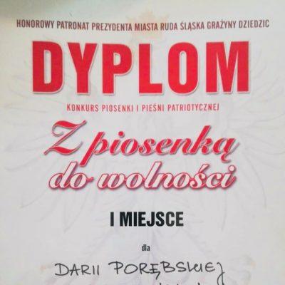 Dyplom - Daria Porębska