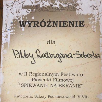 Dyplom -Alba Rodriganez-Soberka