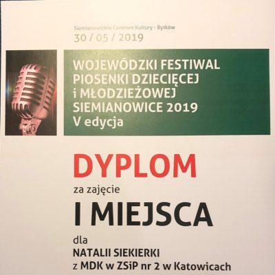 Dyplom - Natalia Siekierka