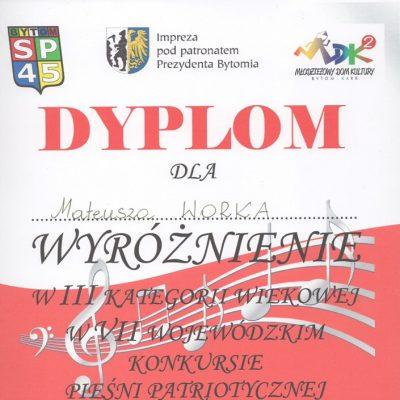 Dyplom - Mateusz Worek